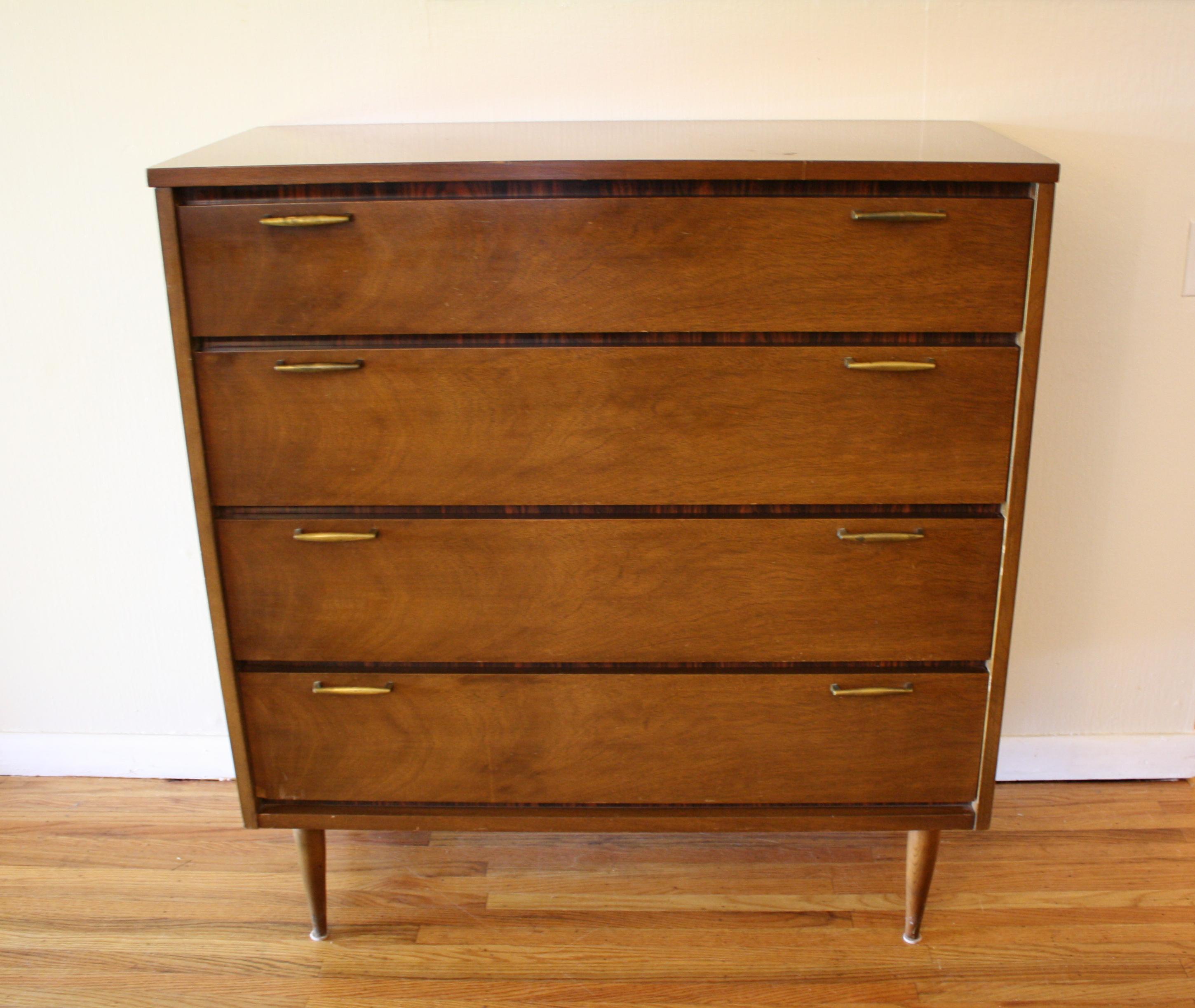 Mid century modern Bassett dresser  credenza  Picked Vintage
