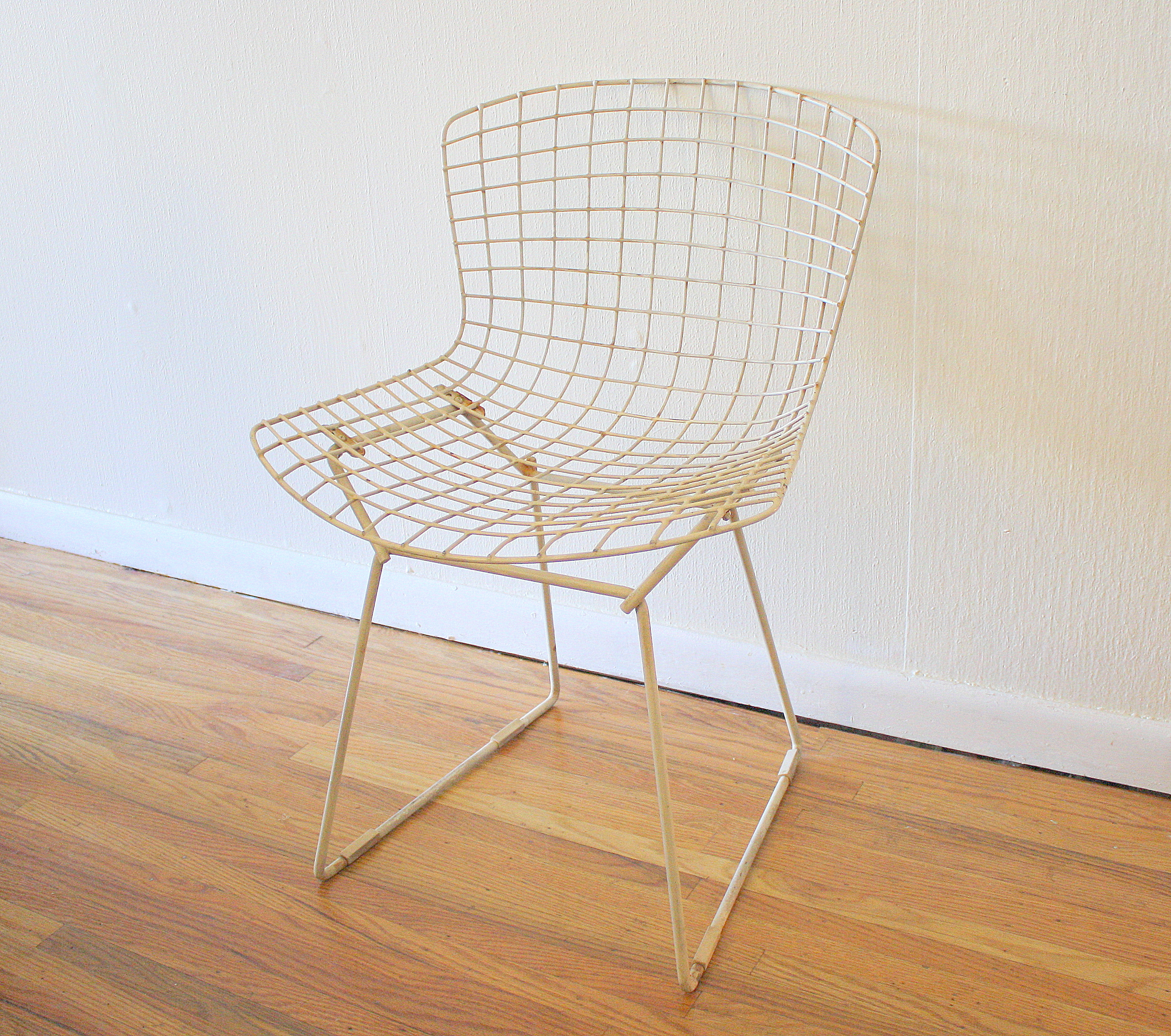 bertoia wire chair original glider chairs for garden knoll picked vintage