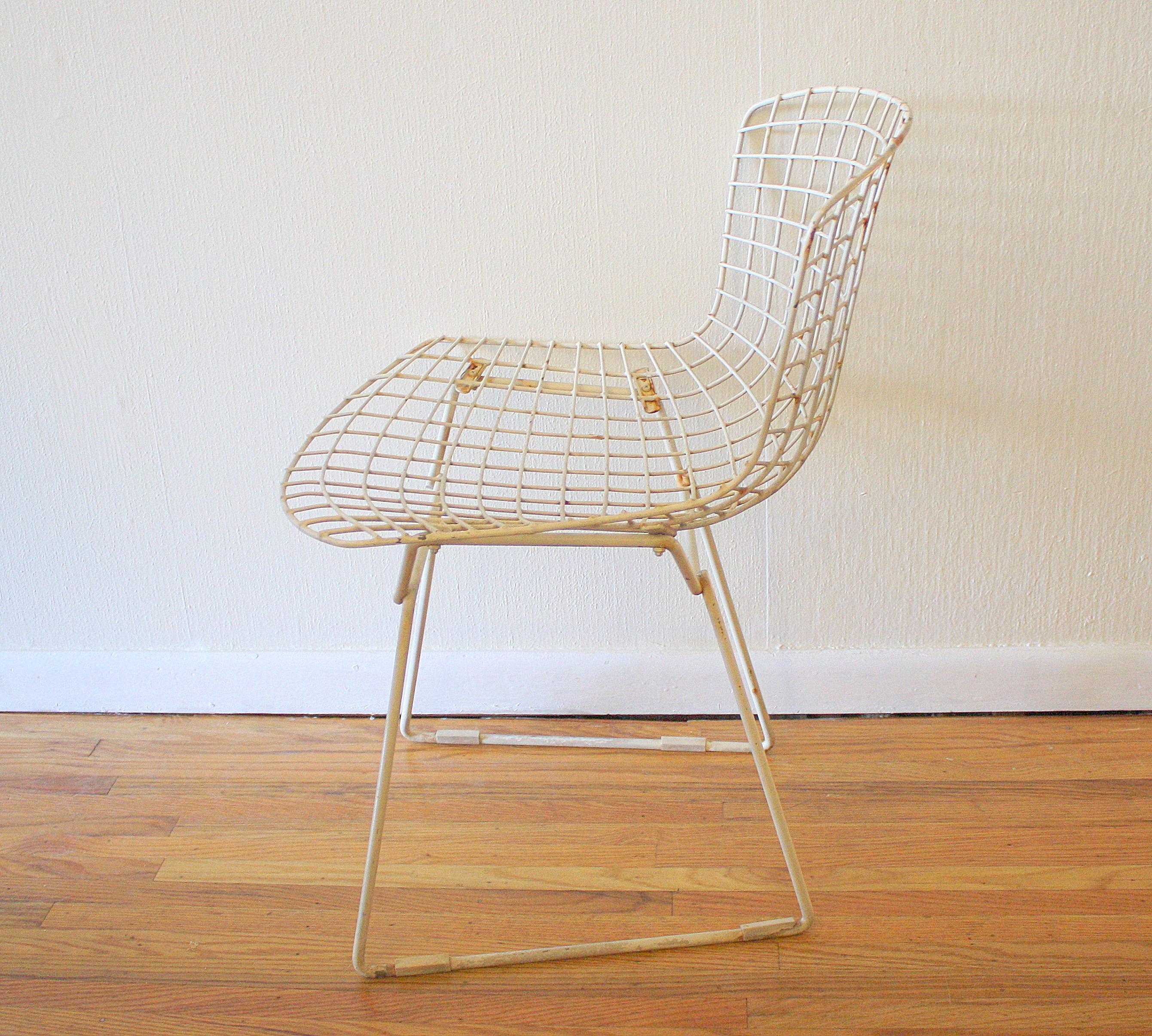 Bertoia Wire Chairs for Knoll  Picked Vintage