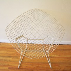 Bertoia Wire Chair Original Round Back Covers Armchair Chairs For Knoll Picked Vintage
