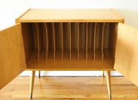 Mid Century Modern Record Cabinet | Picked Vintage