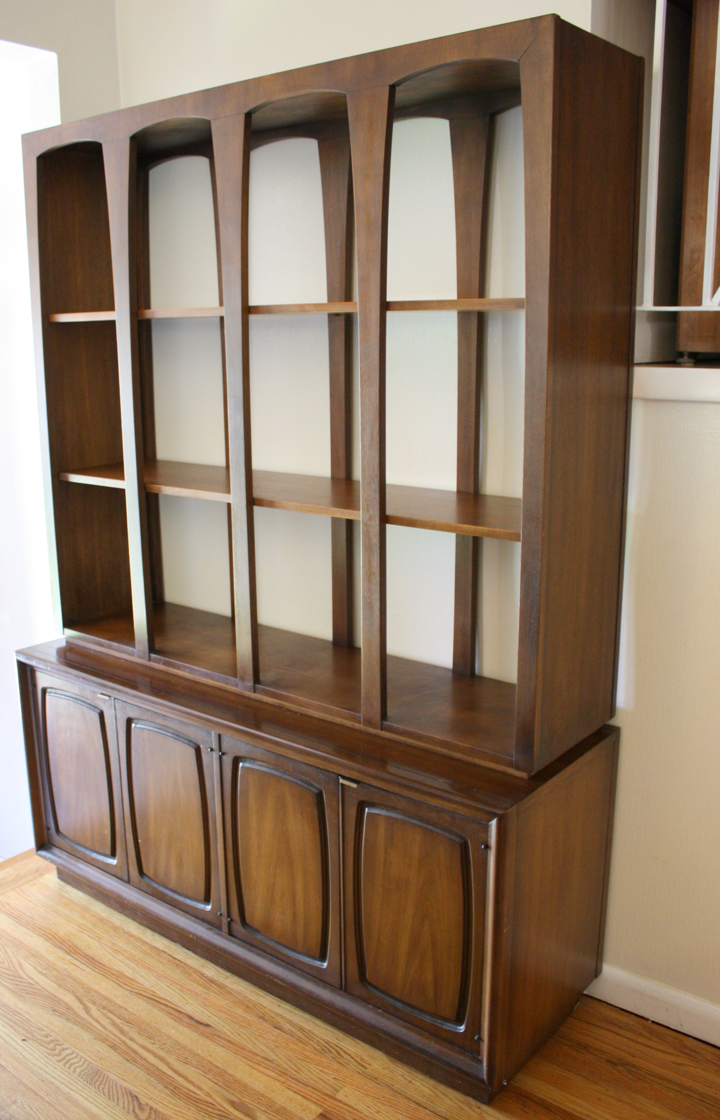 Broyhill Emphasis Room Divider Bookshelf  Credenza