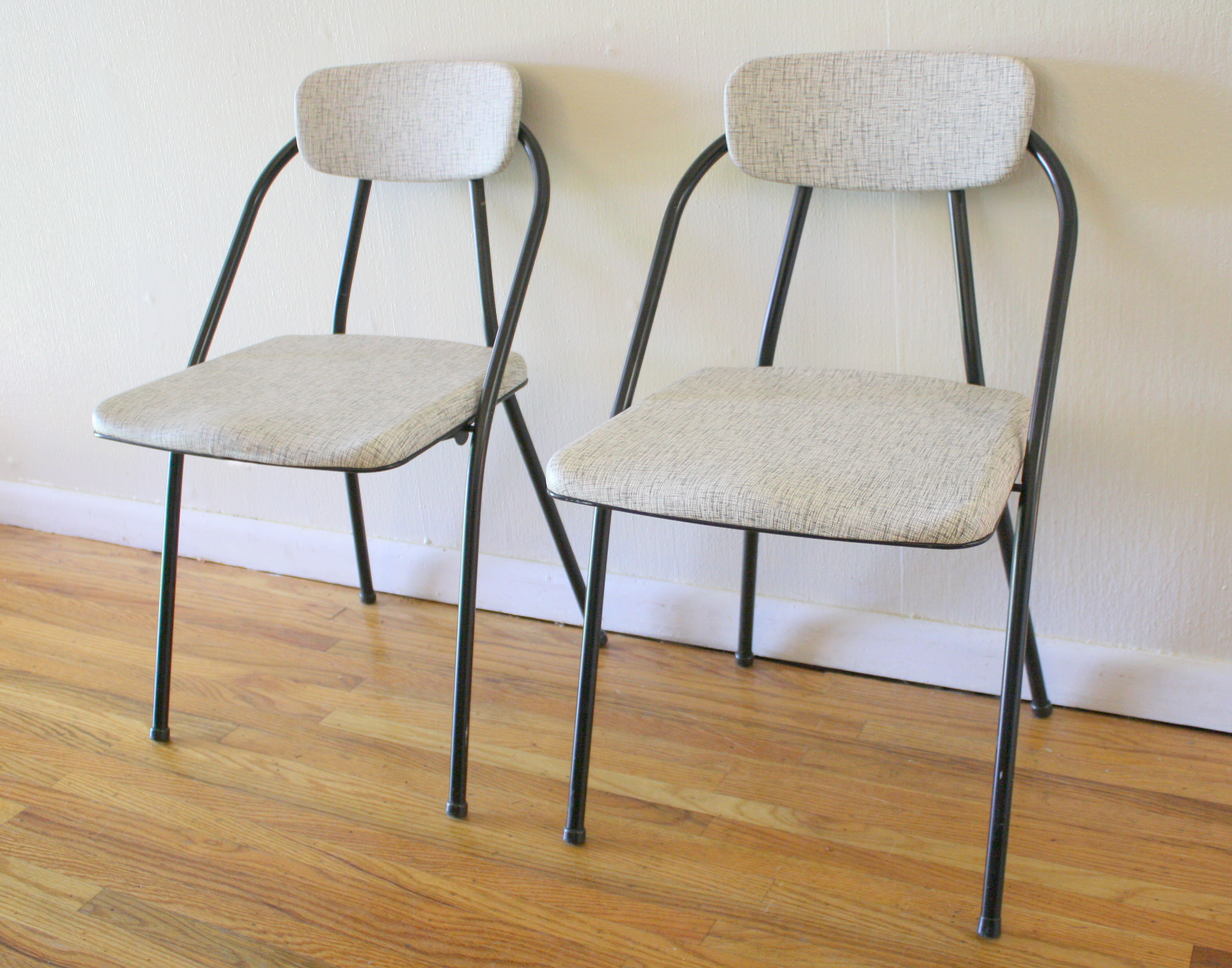Modern Folding Chairs Mid Century Modern Vintage Folding Chair Pairs Picked