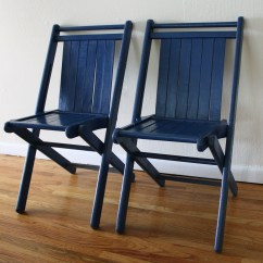 Old Blue Chair Used Covers For Sale Uk Folding Chairs Picked Vintage