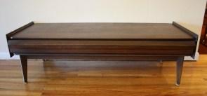 Lane mcm angled coffee table 1