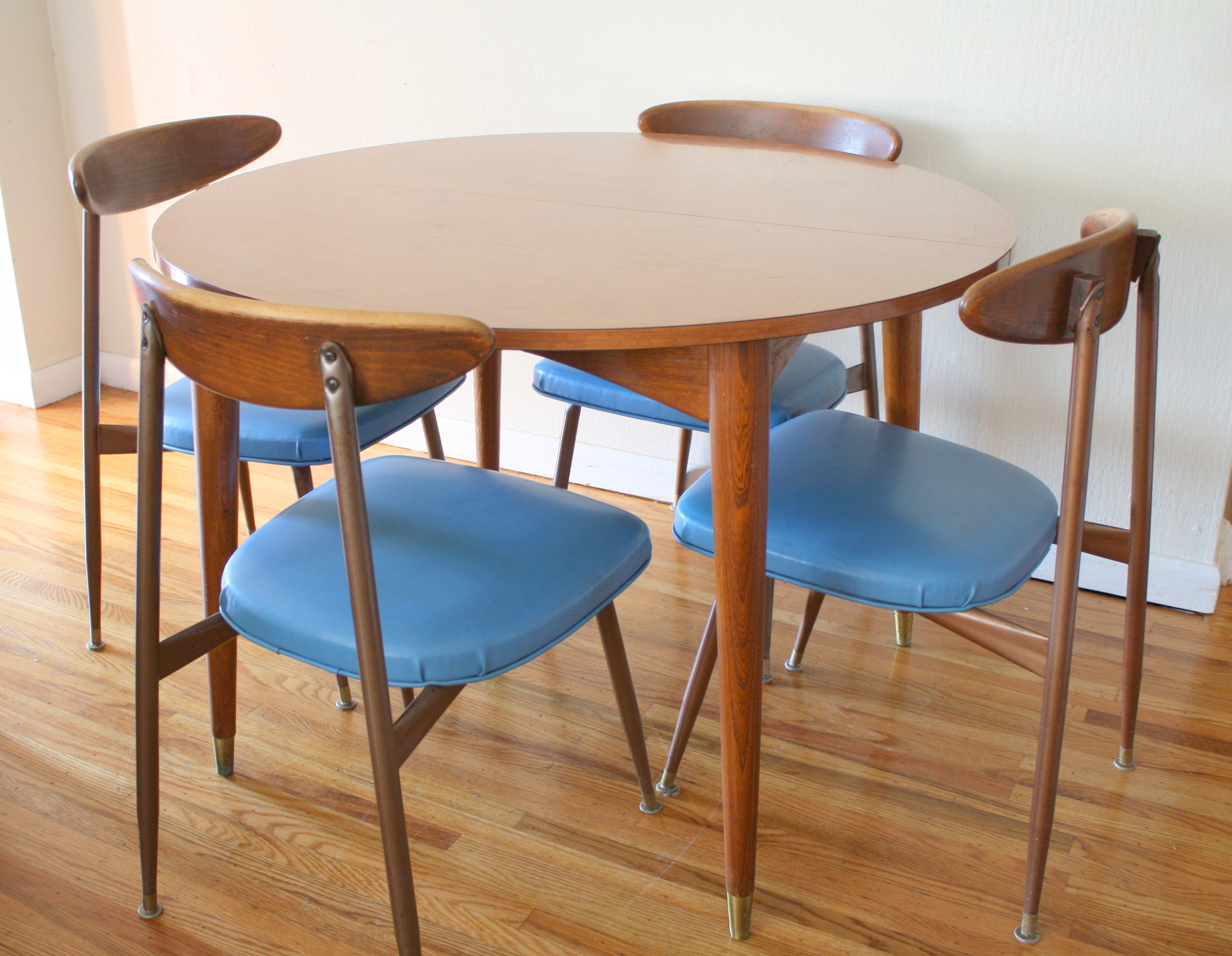 chairs for kitchen table play ikea mid century modern viko dining picked vintage