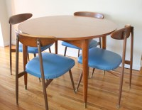 Mid Century Modern Viko Chairs & Dining Table