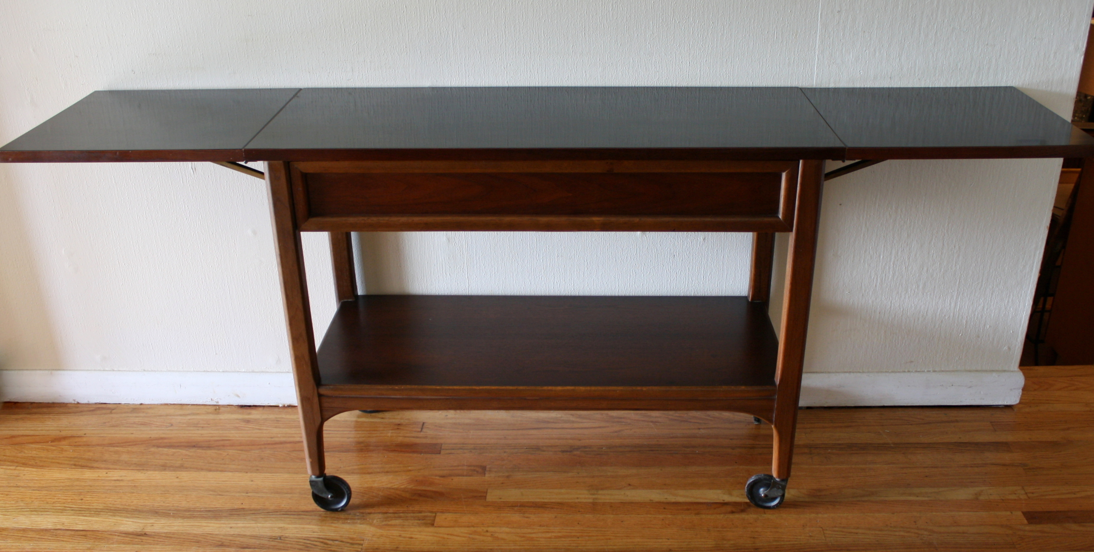 vintage lane sofa table how to fold click clack bed mid century modern console by picked