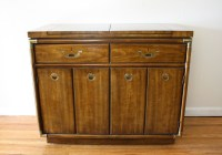Drexel Accolade Console Bar Serving Cabinet | Picked Vintage