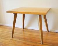 Mid Century Modern Splayed Leg Table | Picked Vintage