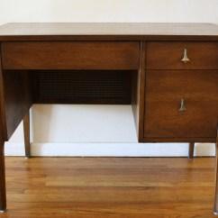 Danish Modern Dining Chairs Lexington Broyhill Brasilia Mid Century Desk | Picked Vintage
