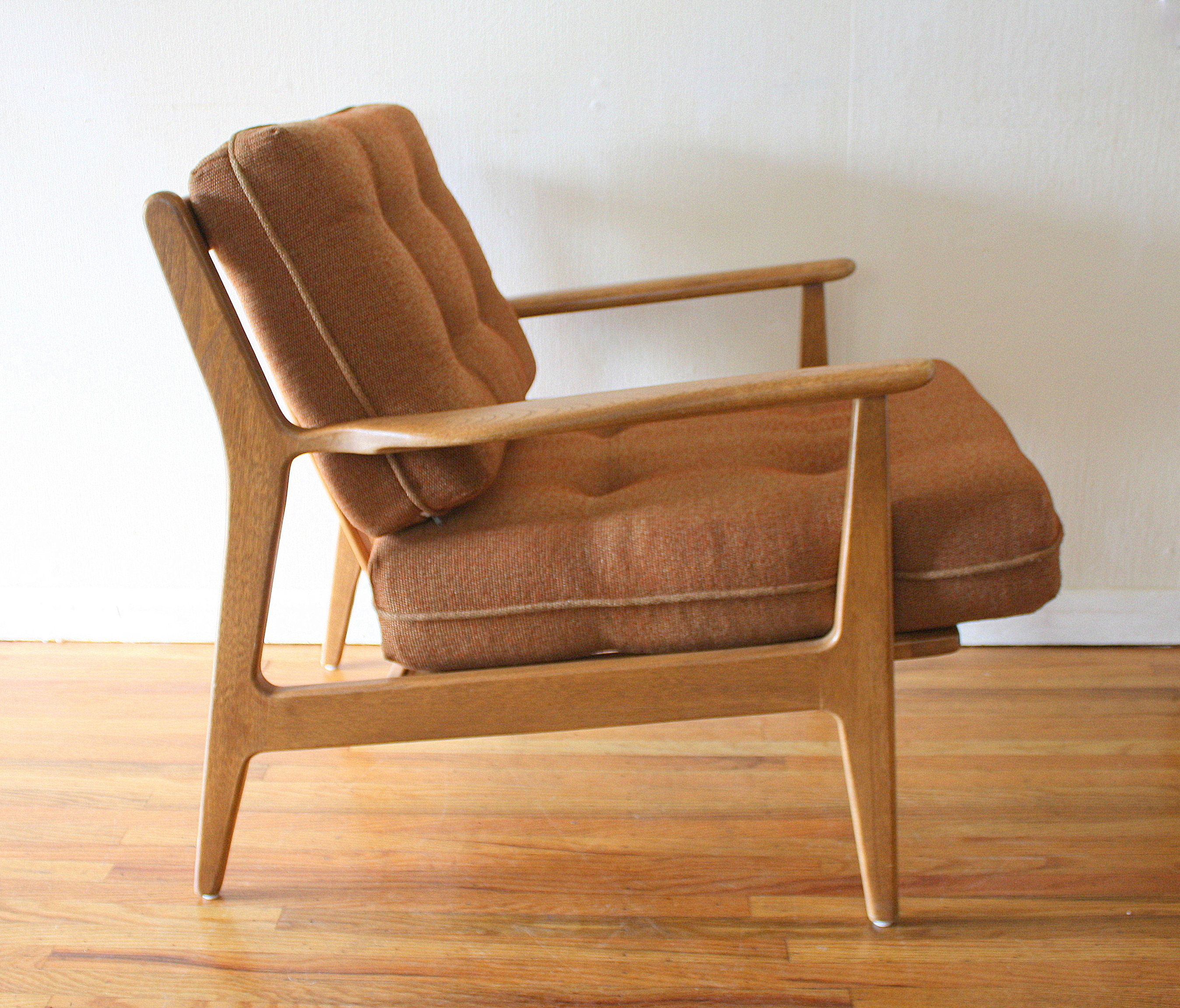 Mid Century Modern Arm Lounge Chairs by Baumritter