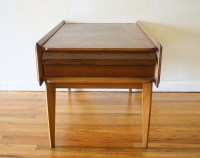 Mid Century Modern Side End Table Nightstands   Picked Vintage