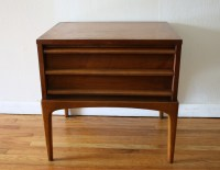 Mid Century Modern Dressers and Matching Side End Table by ...