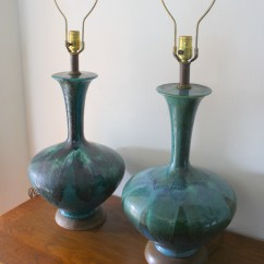 Bassett Furniture Chairs Hickory Chair Daybed Mid Century Modern Pottery Lamps | Picked Vintage