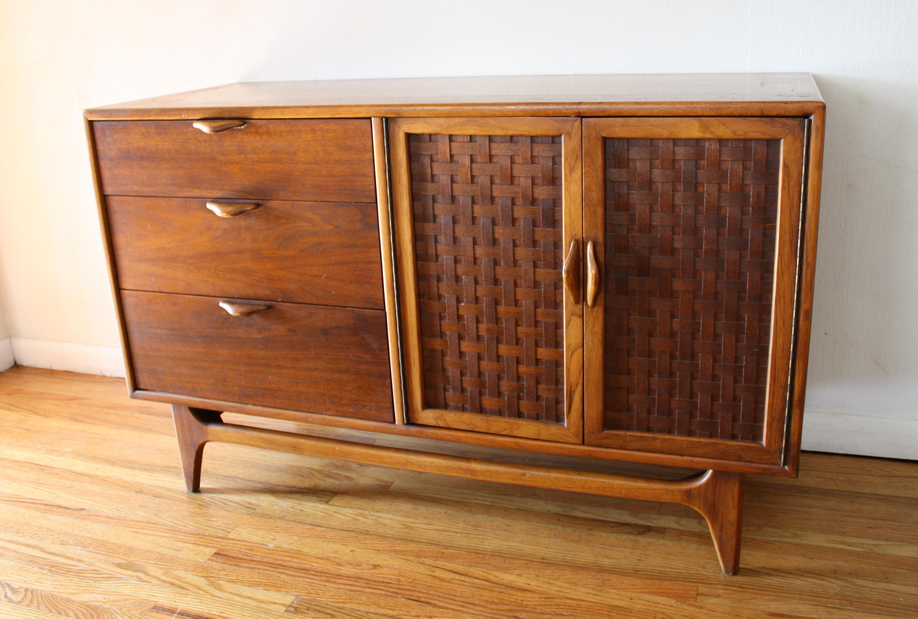 Mid Century Modern Credenza by Lane  Picked Vintage