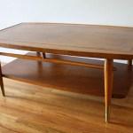 Mid Century Modern Lane Copenhagen Coffee Table Picked Vintage
