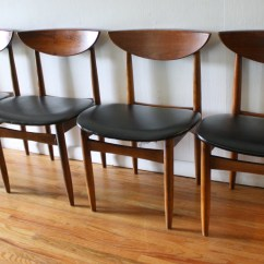 Mid Century Dining Chairs Vinyl Straps For Patio Modern Chair Set By Lane Picked Vintage