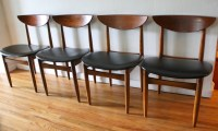 Mid Century Modern Dining Chair Set by Lane | Picked Vintage