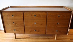Mid Century Modern Low Dresser Credenza By Hooker Picked