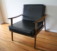 Mid Century Modern Hans Wegner Style Arm Lounge Chairs ...