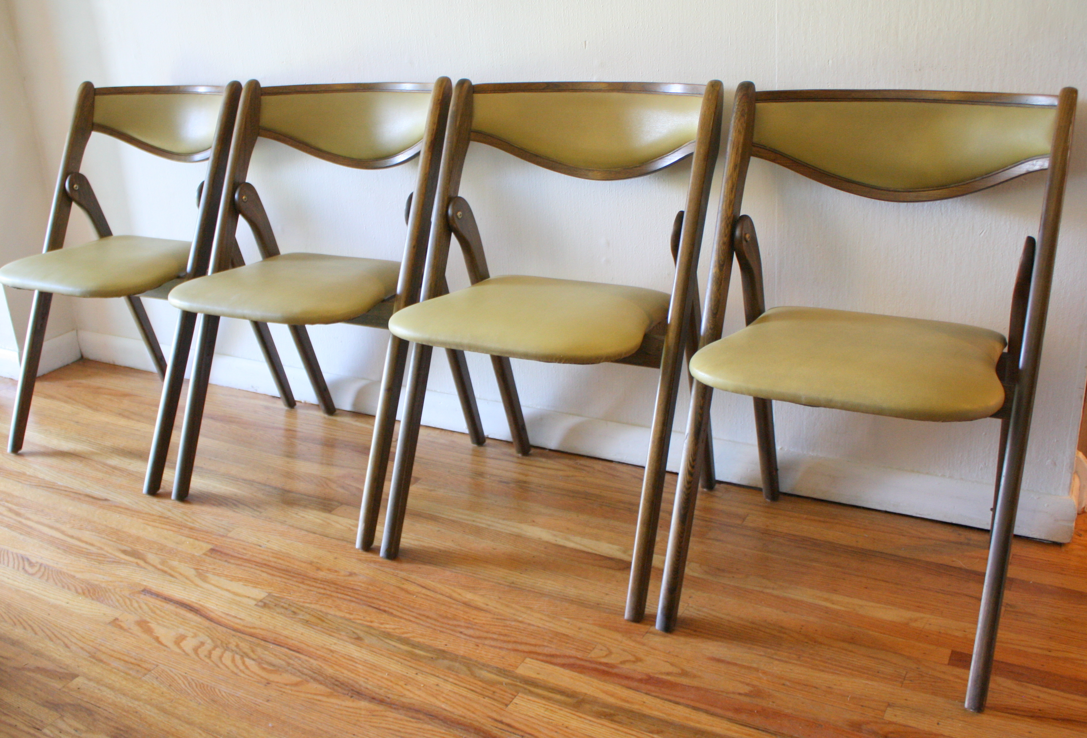 folding chairs  Picked Vintage