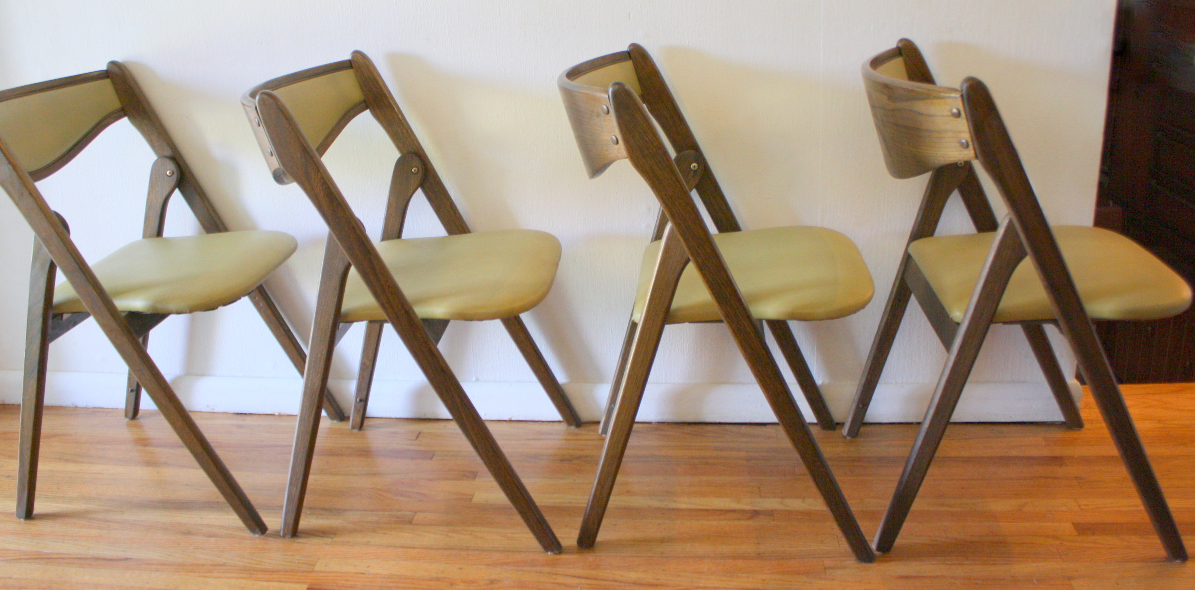 Modern Folding Chairs Folding Chairs Picked Vintage