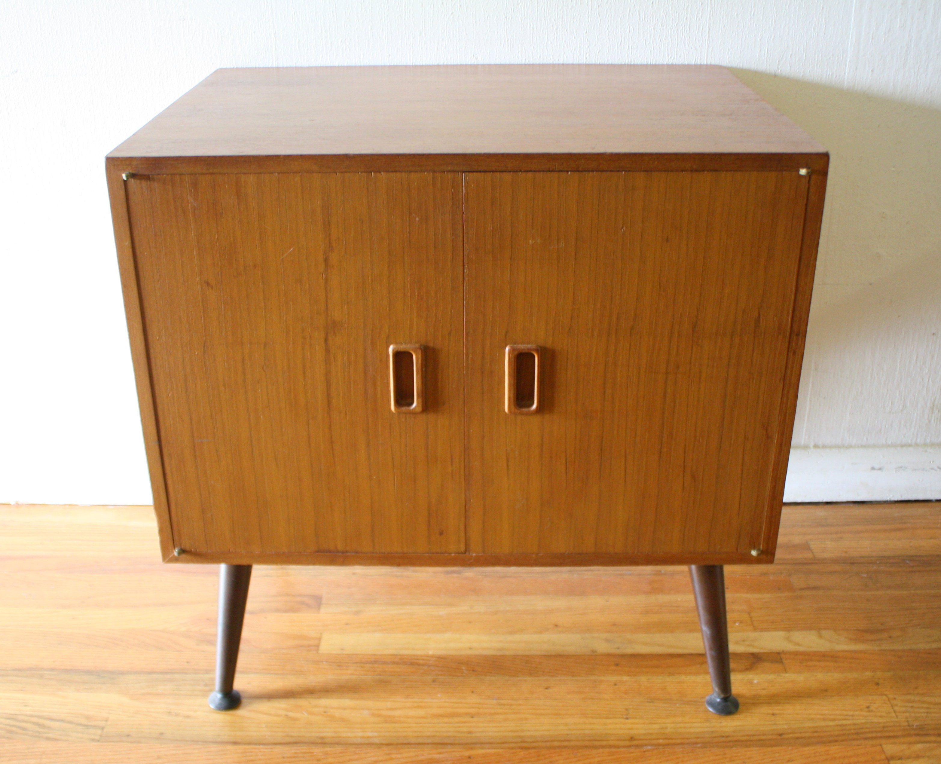 record cabinet  Picked Vintage
