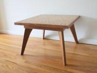 Mid Century Modern Tile Top Tables | Picked Vintage