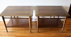 Pair of Lane Acclaim side end tables 1