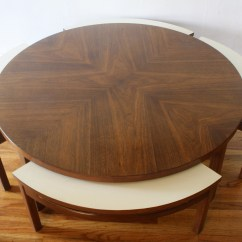 Espresso Table And Chairs Velvet Swivel Chair Mid Century Modern Game Coffee With Hidden