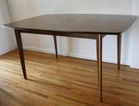 Mid Century Modern Broyhill Brasilia Dining Table | Picked ...