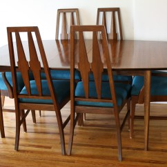 Mid Century Dining Chairs Batman Table And Chair Set Modern Broyhill Brasilia