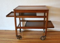 Mid Century Modern Bar Serving Cart | Picked Vintage