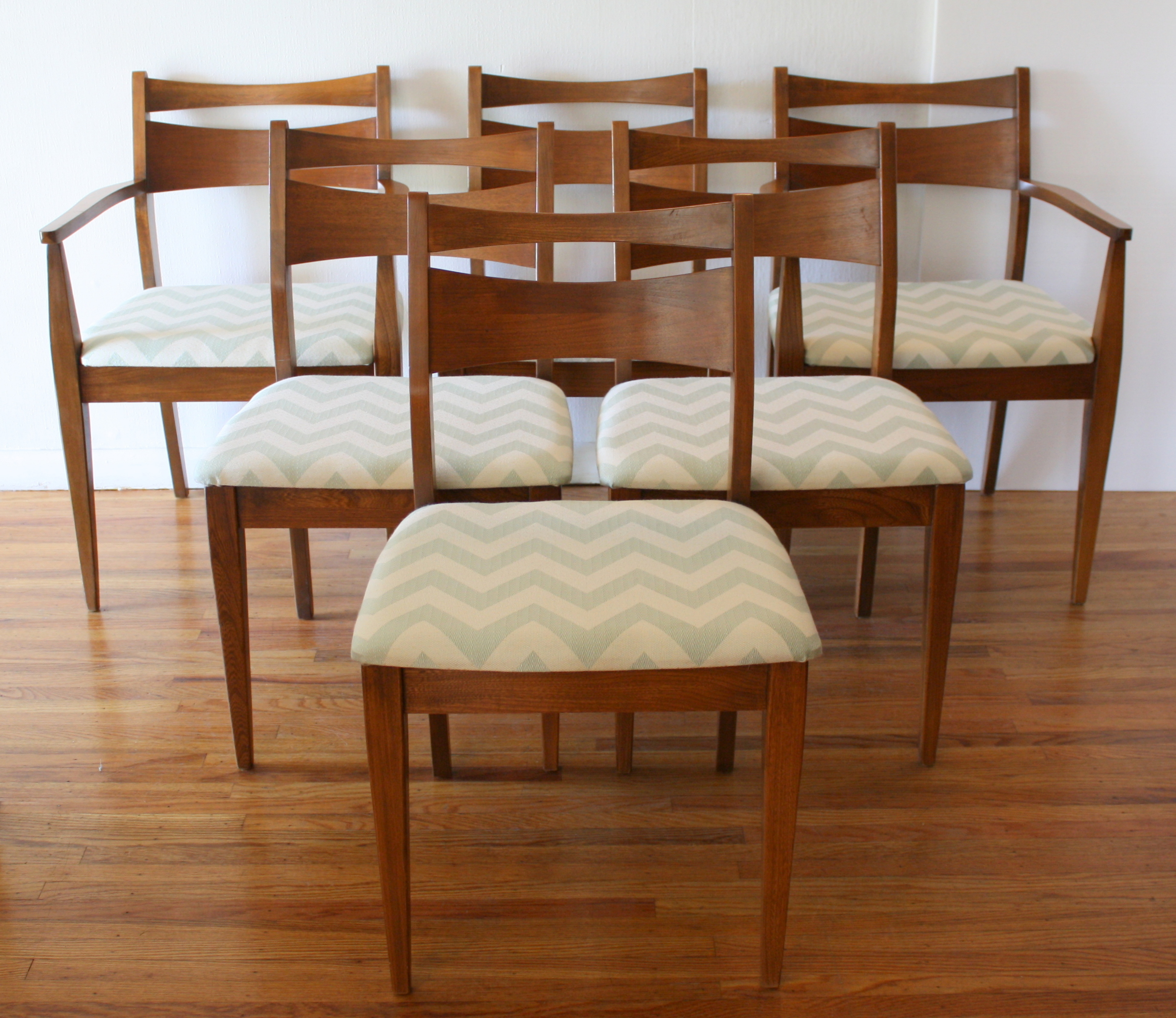 Aqua Dining Chairs Mid Century Modern Dining Chair Set And Broyhill Brasilia