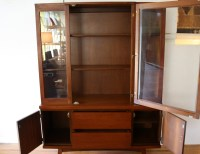 Mid Century Modern China Cabinet Hutch  Review Home Decor