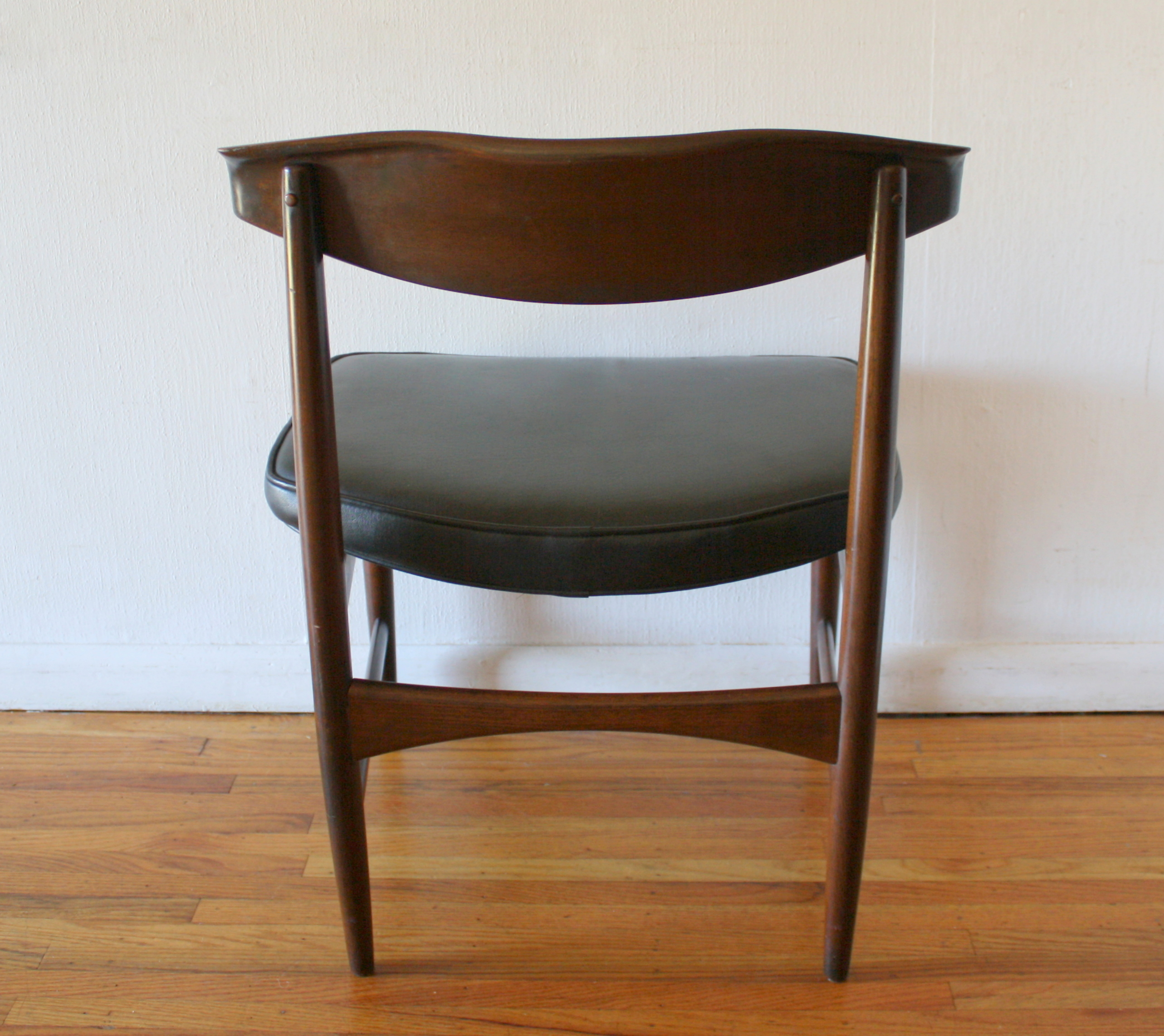 Danish Mid Century Modern Chair by Selig  Picked Vintage