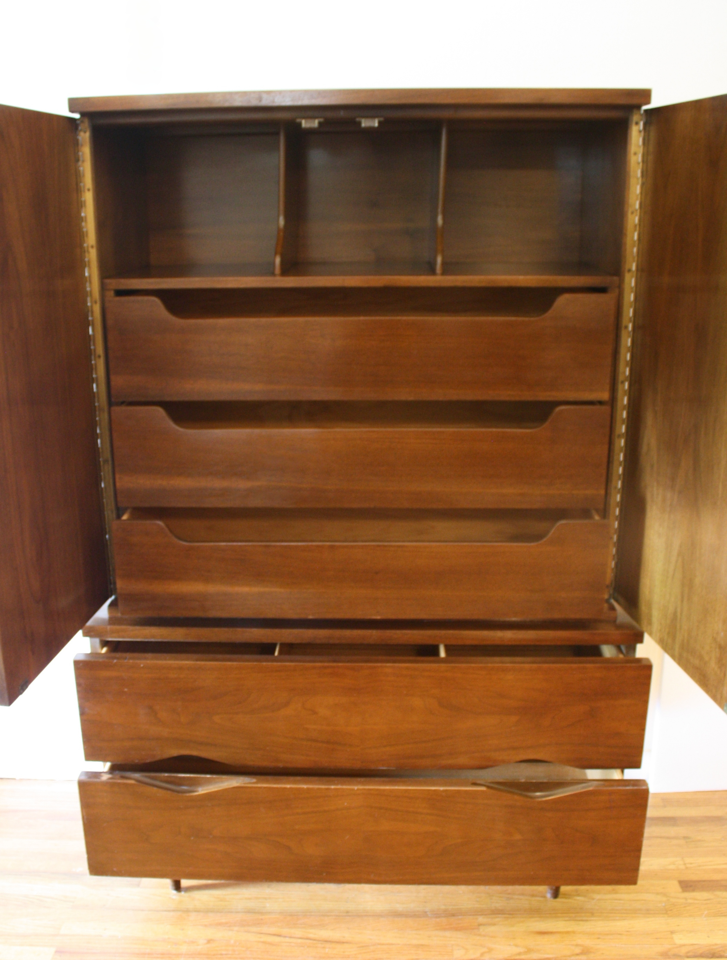 American by Martinsville tall dresser armoire 2  Picked Vintage