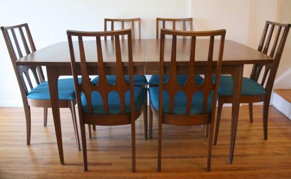Mid Century Modern Broyhill Dining Set