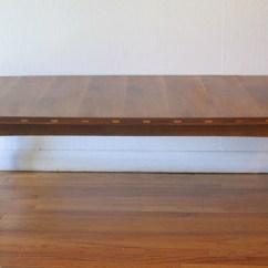 Vintage Lane Sofa Table Italian Leather And Loveseat Mid Century Modern Coffee Side End By