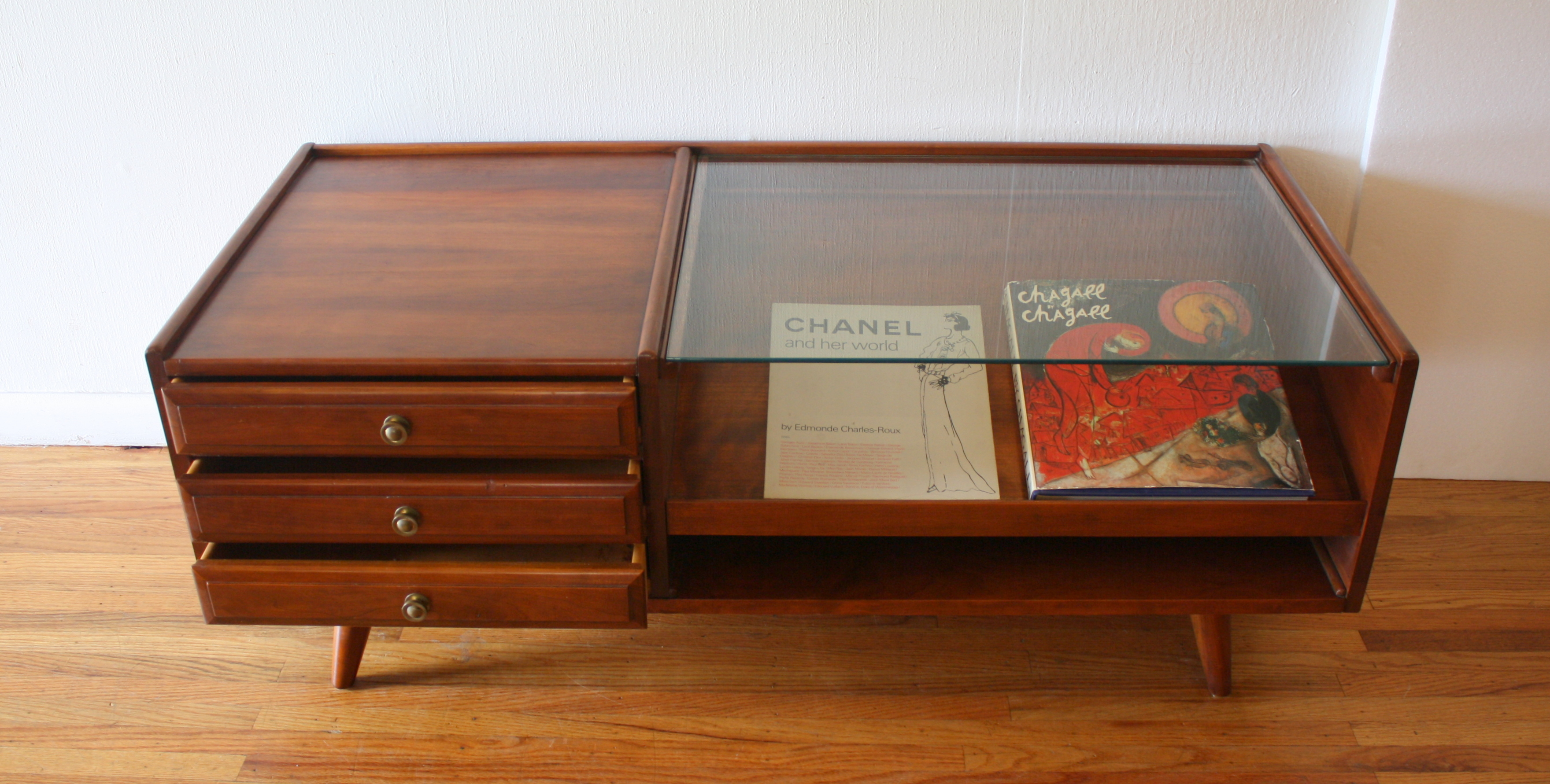 Mid Century Modern Coffee Table by Willett  Picked Vintage