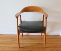 Mid Century Modern Arm Chair   Picked Vintage