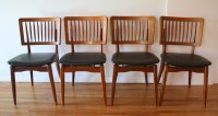 Mid Century Modern Dining Chair Set by Stakmore | Picked ...