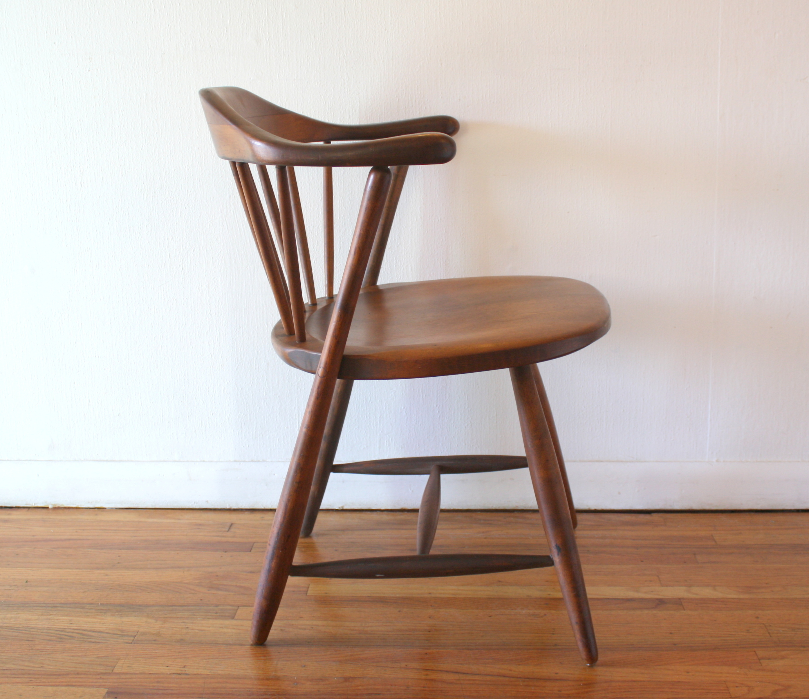 conant ball chair outdoor with side table mid century modern arm by picked vintage