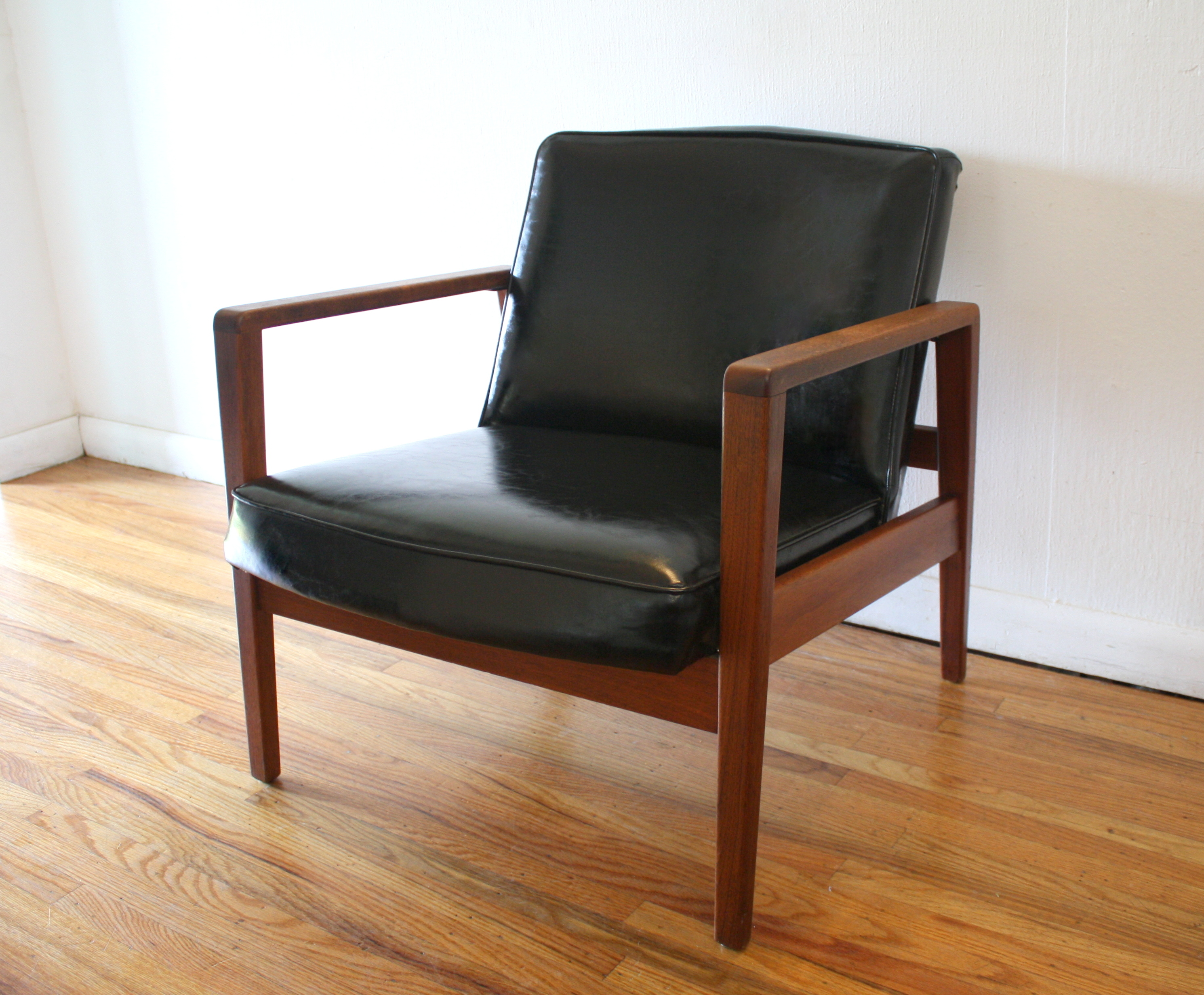 herman miller chairs vintage transfer chair shower mid century modern arm lounge by george nelson for