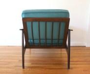 teal velvet arm chair 3