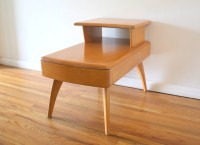 Mid Century Modern 2 Tiered Side End Table by Heywood ...