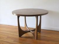 Broyhill Brasilia round side end table 4 | Picked Vintage