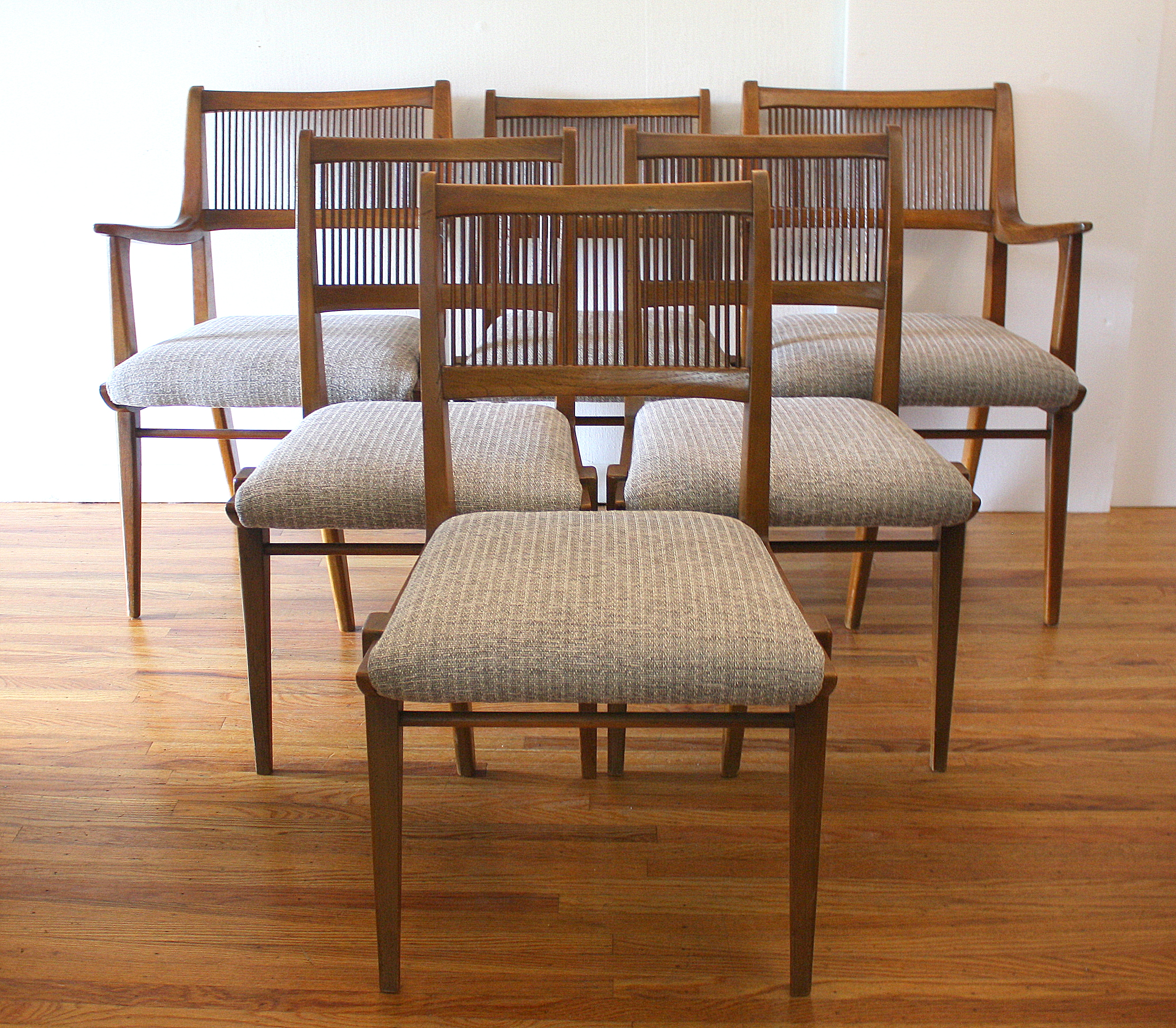 Drexel Chairs Mid Century Modern Dining Chair Set By Drexel Picked Vintage