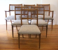 Mid Century Modern Dining Chair Set by Drexel | Picked Vintage